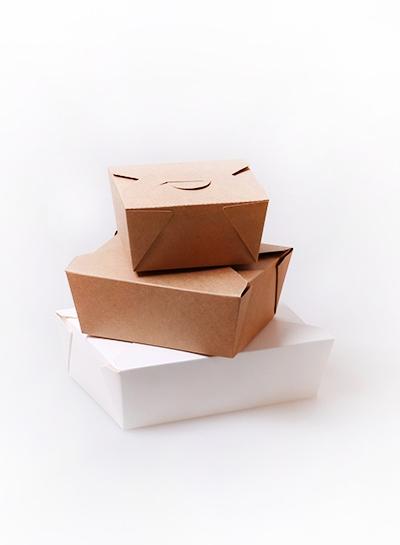 纯色打包盒